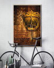 Firefighter Helmet Poster 11x17 Poster lifestyle-poster-7