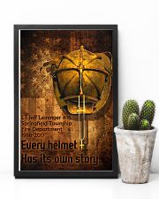 Firefighter Helmet Poster 11x17 Poster lifestyle-poster-8