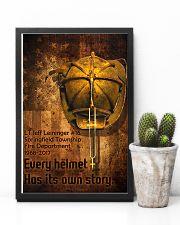 Firefighter Helmet Poster 11x17 Poster lifestyle-poster-8