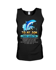 Dolphin Son Dad Daddy Loves Loves You Unisex Tank thumbnail