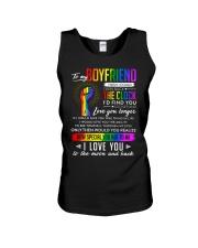 LGBT Boyfriend Clock Ability Moon Unisex Tank thumbnail
