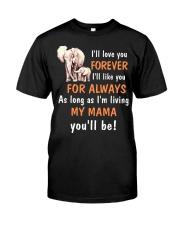 Elephant I love you Mama Classic T-Shirt thumbnail