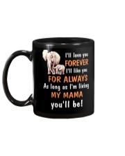 Elephant I love you Mama Mug back