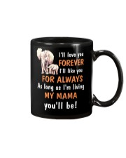 Elephant I love you Mama Mug front