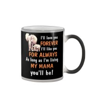 Elephant I love you Mama Color Changing Mug thumbnail