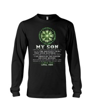 Viking Mom Son Don't Forget I Love You Long Sleeve Tee thumbnail