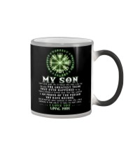 Viking Mom Son Don't Forget I Love You Color Changing Mug thumbnail