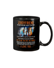 Horse Boyfriend To Me You Are The World Mug front