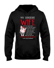 Wife Love My Life You Are In It Pig Hooded Sweatshirt thumbnail