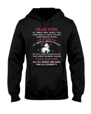 Unicorn Dear Wife You Never Find Another Girl Hooded Sweatshirt thumbnail