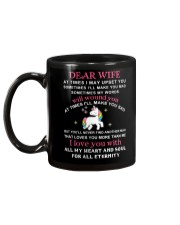 Unicorn Dear Wife You Never Find Another Girl Mug back