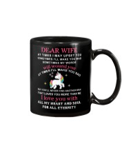 Unicorn Dear Wife You Never Find Another Girl Mug front