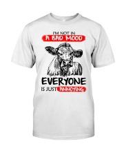 Farmer heifer bad mood  Classic T-Shirt front