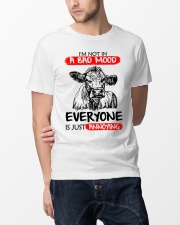 Farmer heifer bad mood  Classic T-Shirt lifestyle-mens-crewneck-front-14