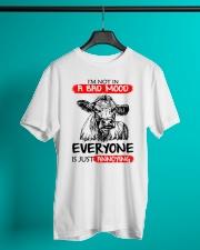 Farmer heifer bad mood  Classic T-Shirt lifestyle-mens-crewneck-front-3