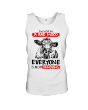 Farmer heifer bad mood  Unisex Tank thumbnail