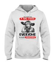 Farmer heifer bad mood  Hooded Sweatshirt thumbnail