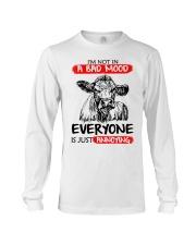 Farmer heifer bad mood  Long Sleeve Tee thumbnail