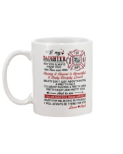 Firefighter Beautiful Inside And Out Daughter Dad Mug back