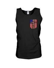 Firefighter Stand For The Flag Unisex Tank thumbnail