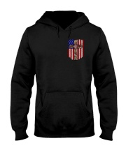 Firefighter Stand For The Flag Hooded Sweatshirt thumbnail