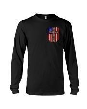 Firefighter Stand For The Flag Long Sleeve Tee thumbnail