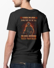 A Place For Me In Hell Firefighter Classic T-Shirt lifestyle-mens-crewneck-back-5