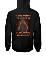 A Place For Me In Hell Firefighter Hooded Sweatshirt thumbnail