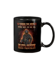 A Place For Me In Hell Firefighter Mug thumbnail