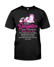 Unicorn Always Remember Mommy Loves You  Classic T-Shirt thumbnail