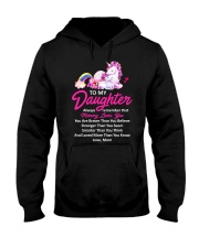 Unicorn Always Remember Mommy Loves You  Hooded Sweatshirt thumbnail