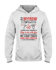 Hands Of Times Boyfriend Hooded Sweatshirt thumbnail