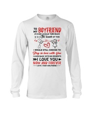 Hands Of Times Boyfriend Long Sleeve Tee thumbnail