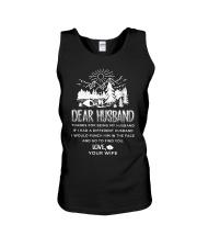 Camping Dear Husband Unisex Tank thumbnail