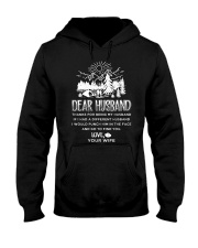 Camping Dear Husband Hooded Sweatshirt thumbnail