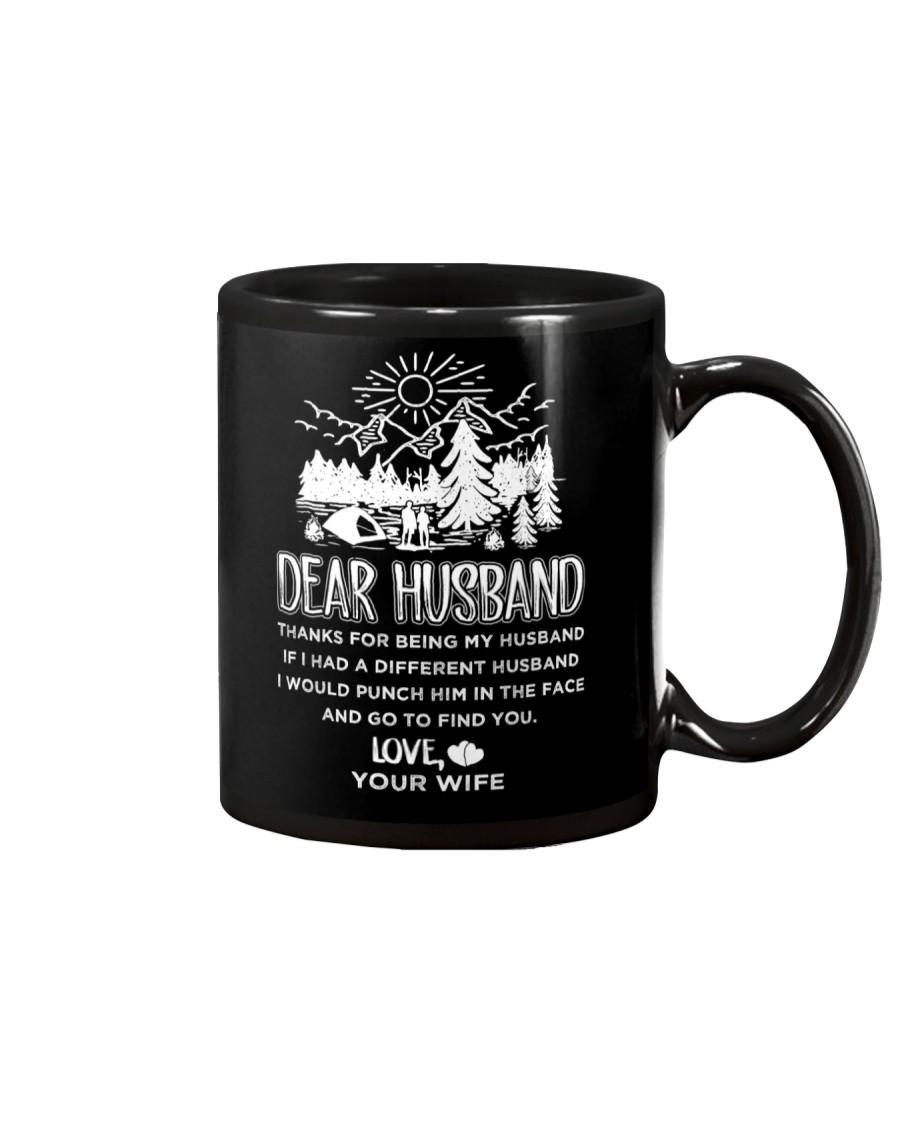 Camping Dear Husband Mug