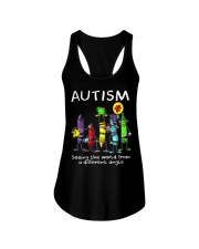 Autism Crayon Different Angle Ladies Flowy Tank thumbnail