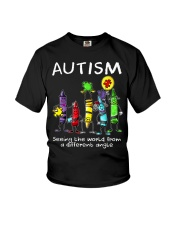 Autism Crayon Different Angle Youth T-Shirt thumbnail