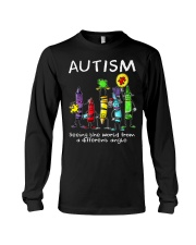 Autism Crayon Different Angle Long Sleeve Tee thumbnail