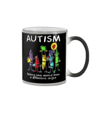 Autism Crayon Different Angle Color Changing Mug thumbnail