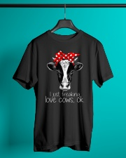 Farmer freaking love cows Classic T-Shirt lifestyle-mens-crewneck-front-3