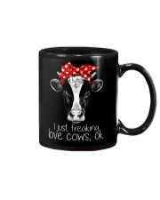 Farmer freaking love cows Mug thumbnail