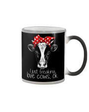 Farmer freaking love cows Color Changing Mug thumbnail