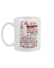 Family Wife Clock Marrying Moon Mug back