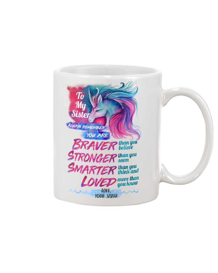 To My Unicorn Sister Mug