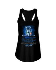 Wolf Mom Daughter Don't Forget I Love You Ladies Flowy Tank thumbnail
