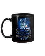 Wolf Mom Daughter Don't Forget I Love You Mug back