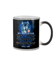 Wolf Mom Daughter Don't Forget I Love You Color Changing Mug thumbnail
