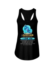 Dolphin Girlfriend Love You Ladies Flowy Tank thumbnail