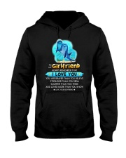 Dolphin Girlfriend Love You Hooded Sweatshirt thumbnail